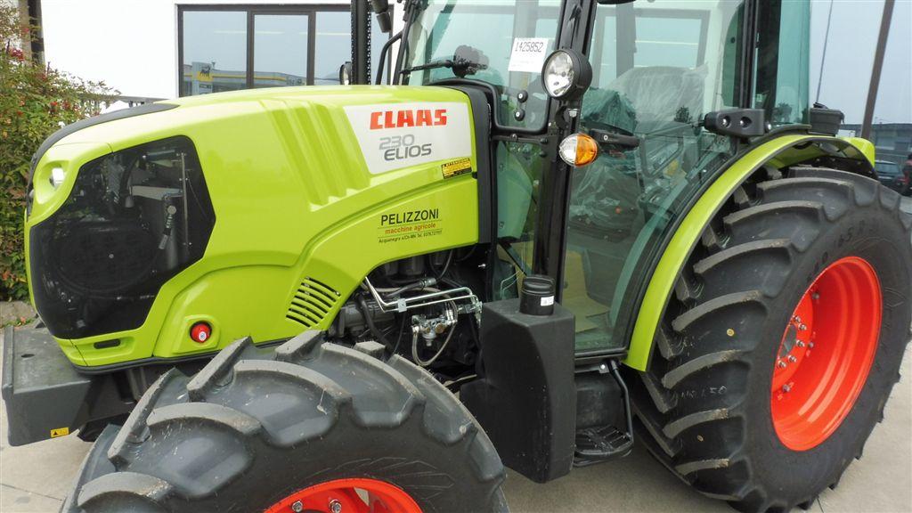 Impianto di frenatura pneumatico su trattore CLAAS ELIOS 230 (A48) Mother Regulation