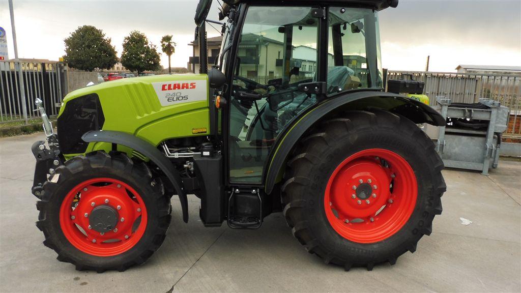 Impianto di frenatura pneumatico su trattore CLAAS ELIOS 240 (A48) Mother Regulation