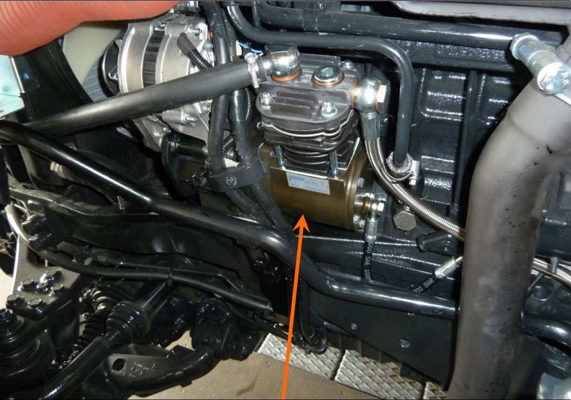 Impianti di frenatura pneumatici ed idraulici per trattori