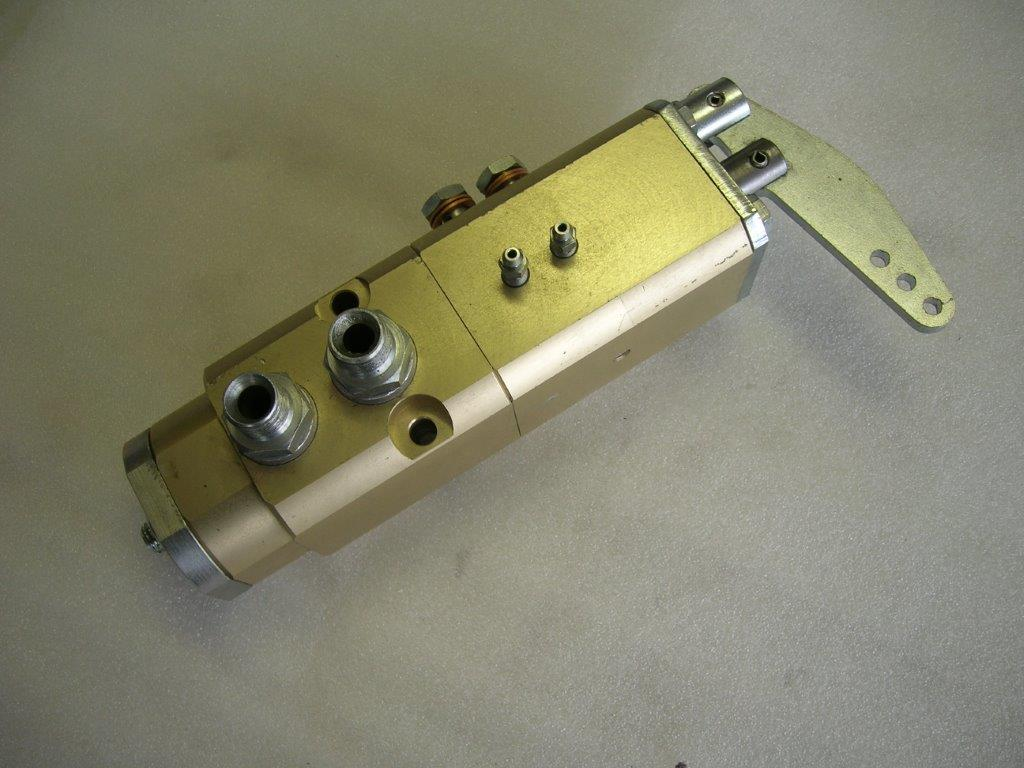 Distributore per Frenatura Rimorchio a Comando Idraulico MA-BE/FH1/M