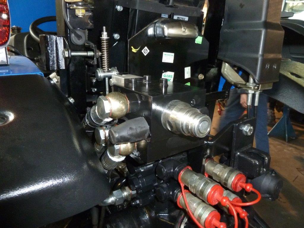 Impianto di frenatura idraulico monocondotta MA FHS