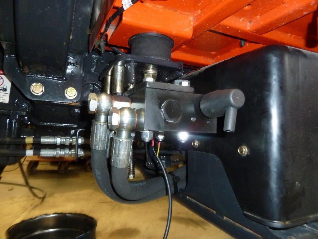 Impianto di Frenatura Idraulico Monolinea per Kioti RX e DK