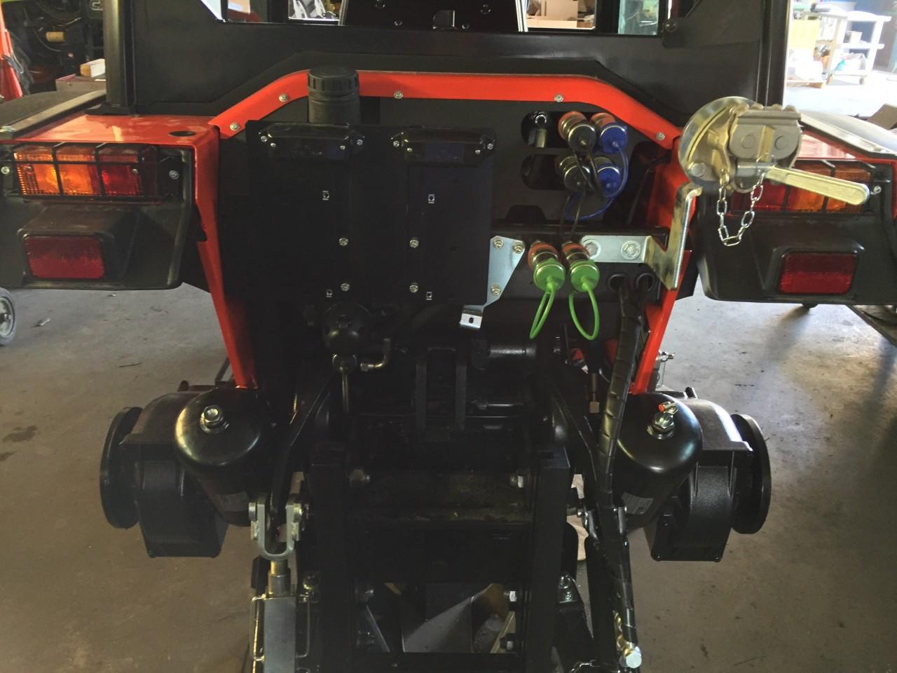 Impianto di frenatura pneumatico MA BE FM2