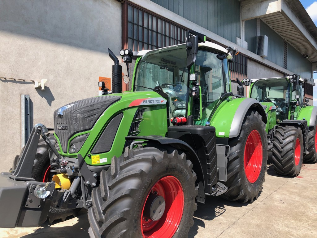 Impianto di frenatura idraulico Mother Regulation per trattore Fendt 720 - 718