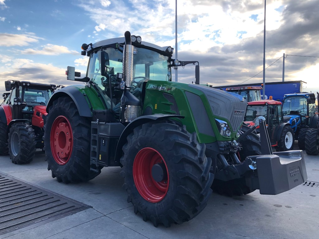 Impianto di frenatura idraulico Mother Regulation per trattore Fendt 828