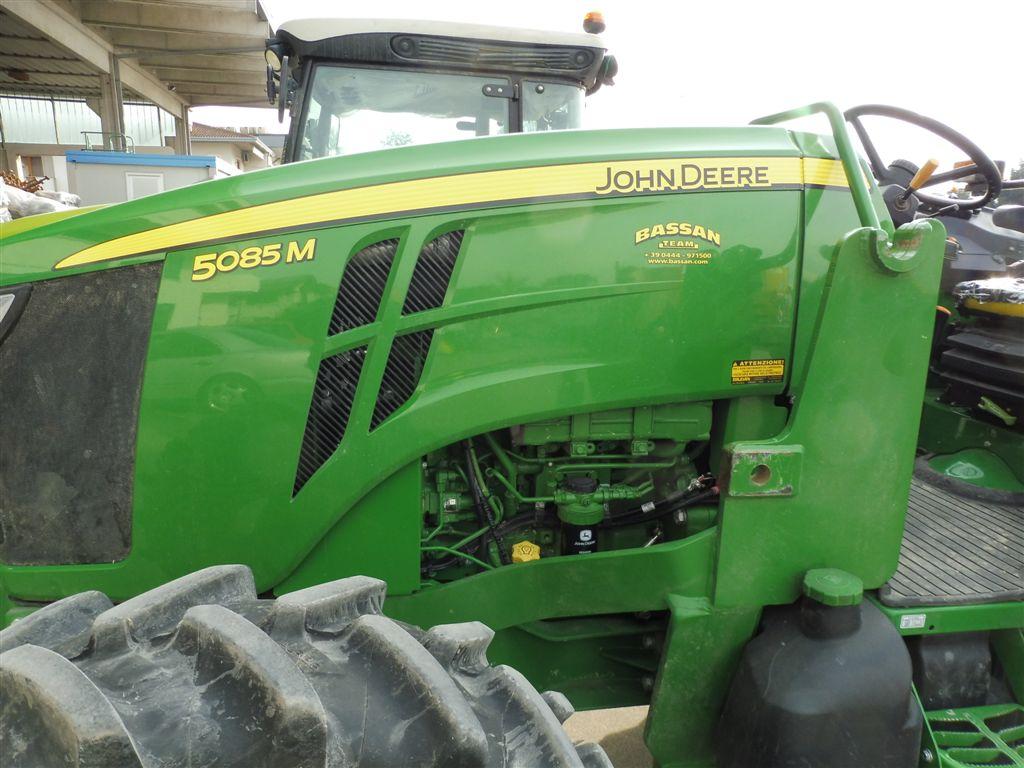 Impianto frenante idraulico per trattore John Deere serie M senza cabina