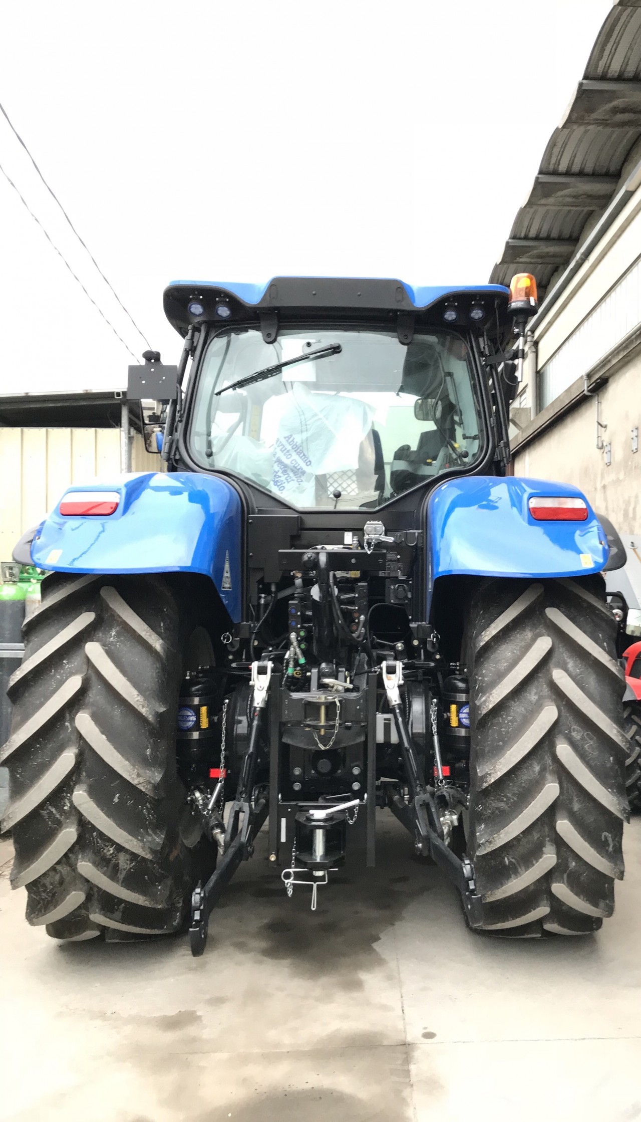 Impianto di Frenatura Pneumatico installato su New Holland T7 225 (MR)