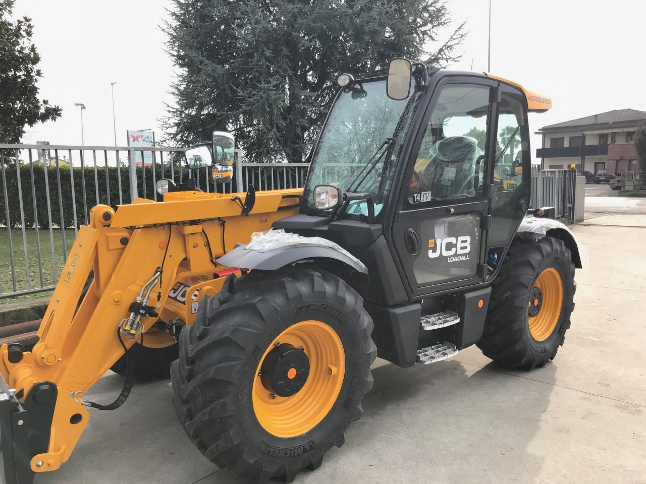Impianto di Frenatura Pneumatico installato su trattore JCB
