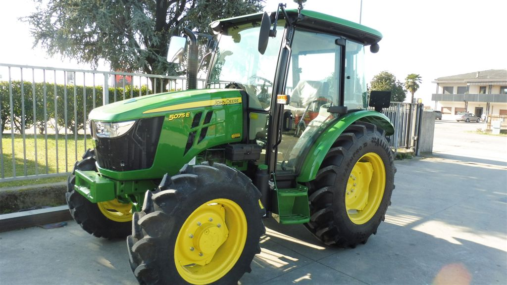 Impianto di frenatura pneumatico per trattore JOHN DEERE 5075 E Mother Regulation