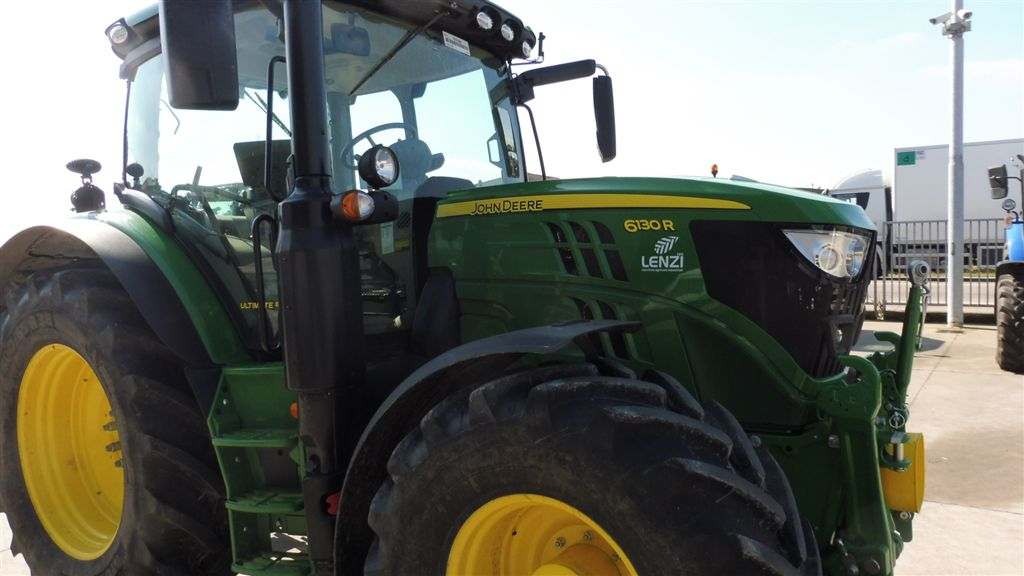 Impianto di frenatura idraulico monolinea su trattore JOHN DEERE 6130 R Mother Regulation