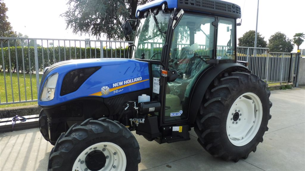Impianto di Frenatura Pneumatico ed Idraulico tipo CUNA installato su NEW HOLLAND T4.110 LP DT CAB. (LT) Mother Regulation