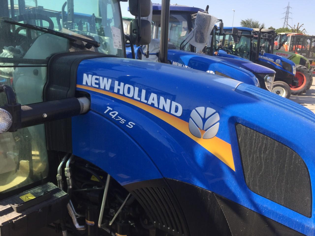 Impianto di Frenatura Pneumatico o Idraulico installato su New Holland T4 75 S