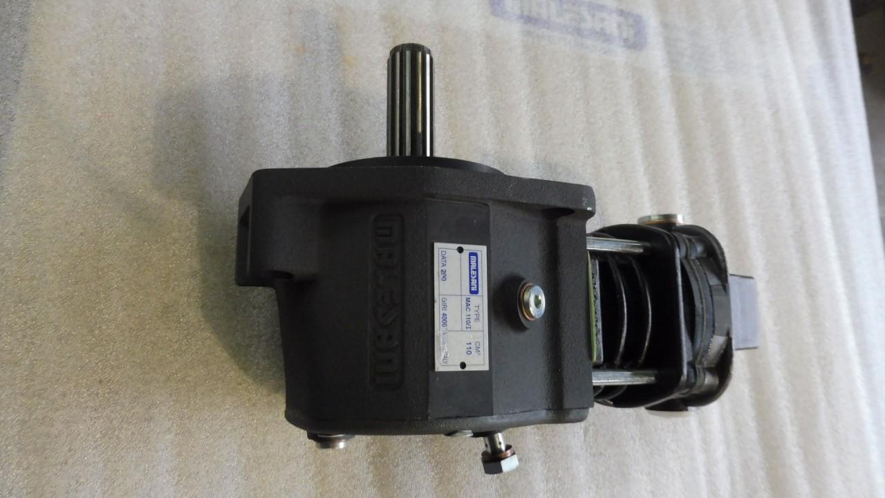 Compressore ad Ingranaggi modello MAC 110/I per motori SAME/Deutz-Fahr