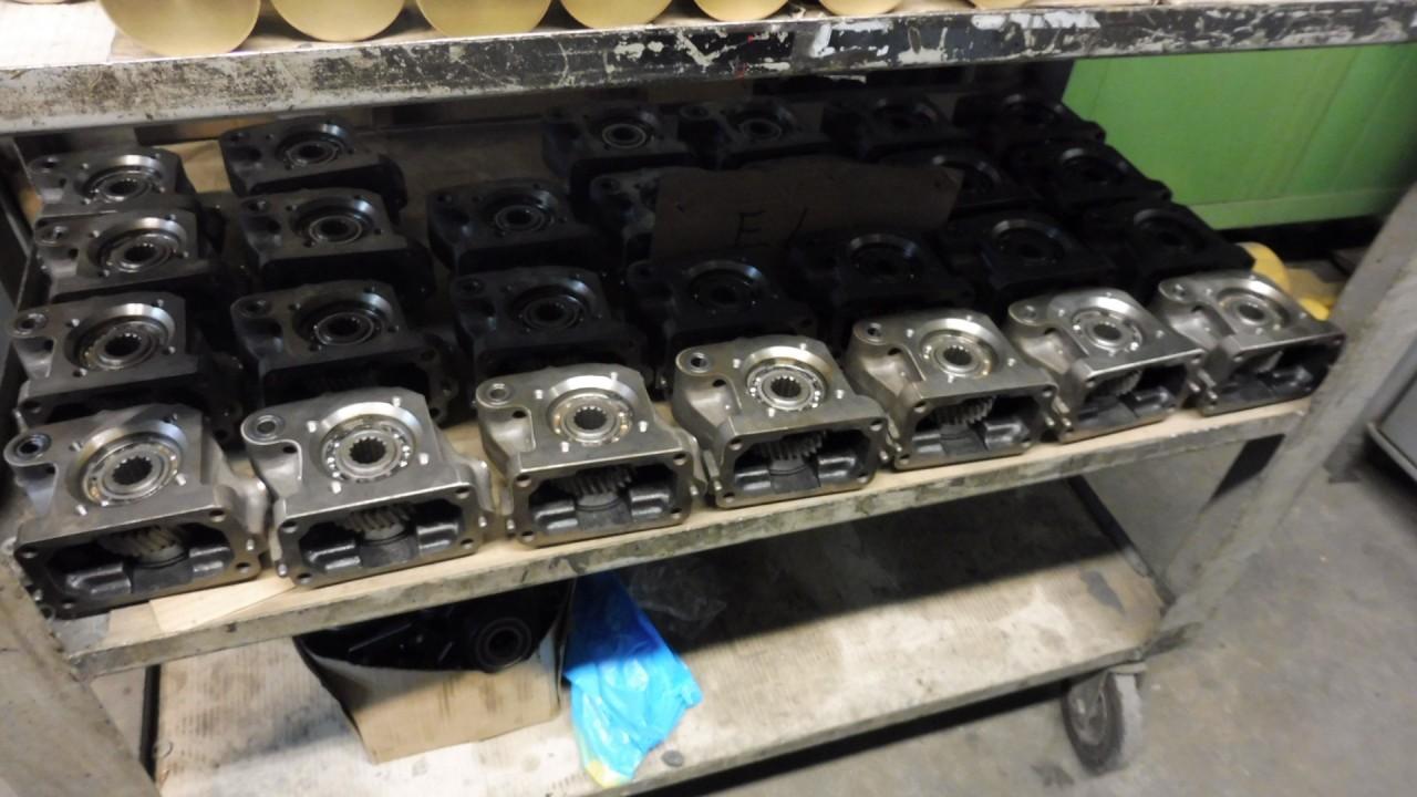 Presa di Potenza per Compressore da Installare su Motori del Gruppo SAME