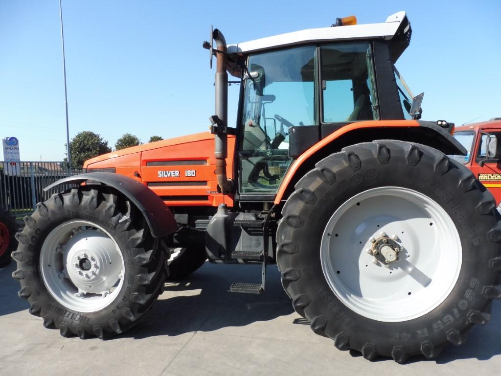 Impianto di frenatura pneumatico per trattore SAME SILVER 180