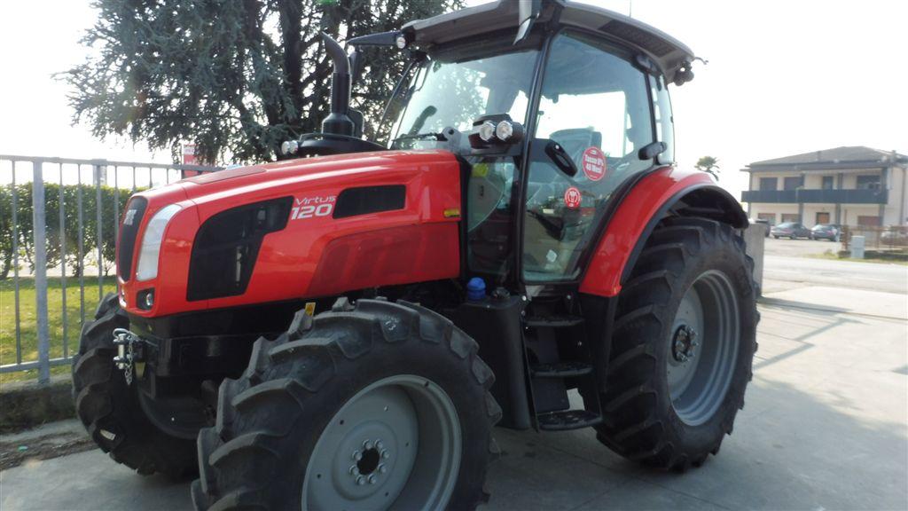 Impianto di frenatura pneumatico per trattore SAME VIRTUS 120 Mother Regulation